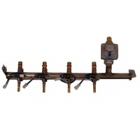 Fire Magic Valve Manifold With Valves And Fittings for Regal 1 Countertop Grills, Without Backburner
