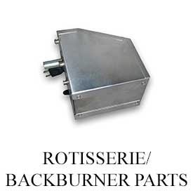 Fire Magic Rotisserie and Backburner Parts